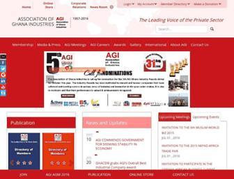agighana.org screenshot