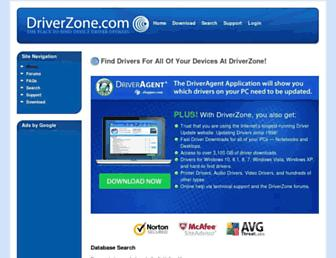 driverzone.com screenshot