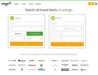 wego.com screenshot