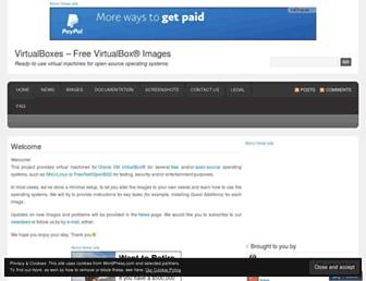 Thumbshot of Virtualboxes.org