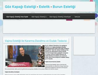 gozkapagiestetigi.web.tr screenshot
