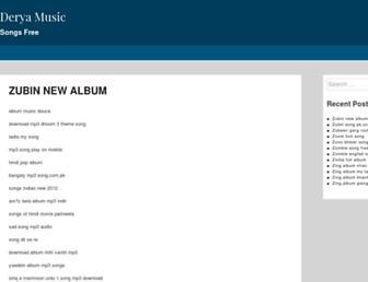 deryamusic.com screenshot