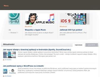 Main page screenshot of download.net.pl