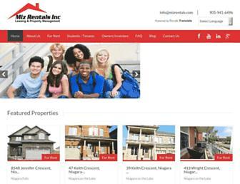 Thumbshot of Mizrentals.ca