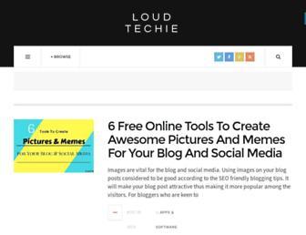 loudtechie.com screenshot