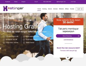 hostinger.co.id screenshot