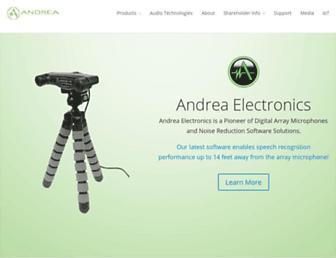 andreaelectronics.com screenshot