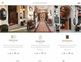regina-hotel.com screenshot