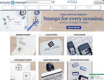 simplystamps.com screenshot
