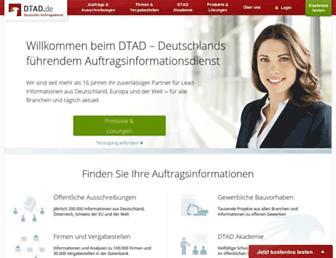 dtad.de screenshot