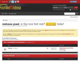 Thumbshot of Forummikrotik.com