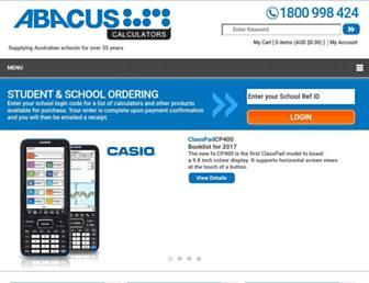 abacuscalculators.com.au screenshot