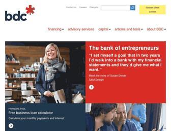 bdc.ca screenshot