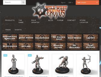 wildwestexodus.com screenshot