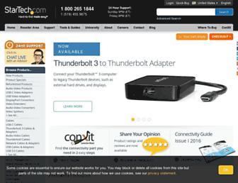 startech.com screenshot