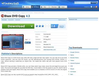 blaze-dvd-copy.findmysoft.com screenshot