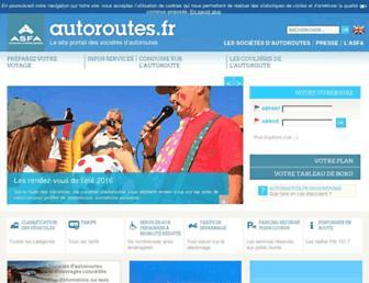 autoroutes.fr screenshot