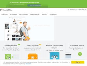 joomlashine.com screenshot