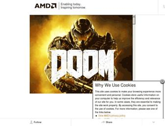 amd.com screenshot