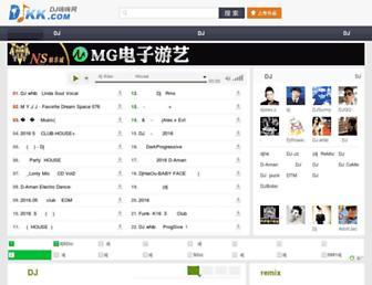 djkk.com screenshot