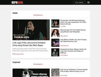 kepogaul.com screenshot