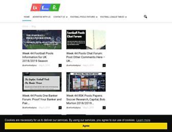 ukfootballplus.com screenshot