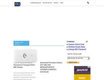 routerunlock.com screenshot