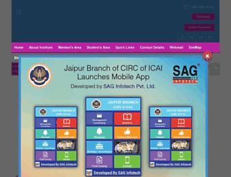 jaipur-icai.org screenshot