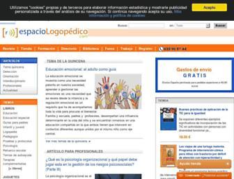 espaciologopedico.com screenshot