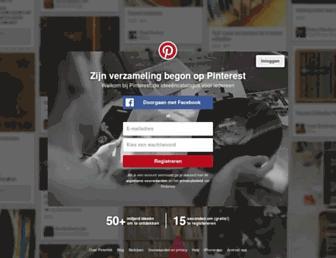 nl.pinterest.com screenshot