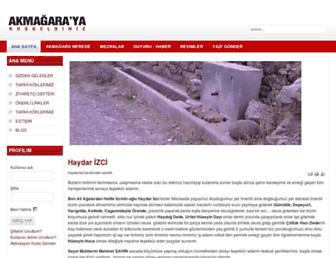 akmagarakoyu.com screenshot