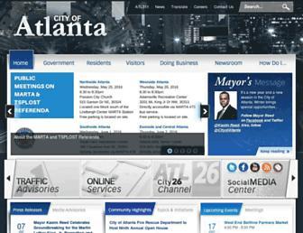 Thumbshot of Atlantaga.gov