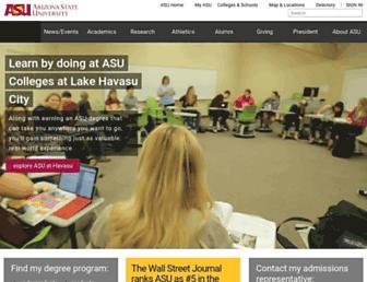 asu.edu screenshot