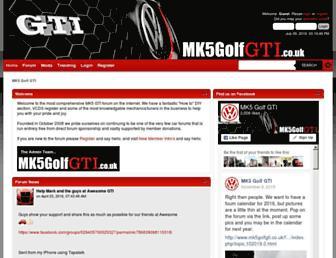 mk5golfgti.co.uk screenshot