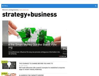 Thumbshot of Strategy-business.com