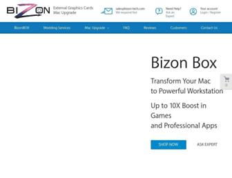 bizon-tech.com screenshot