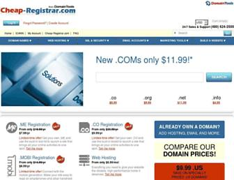 Thumbshot of Cheap-registrar.com