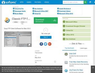 classic-ftp-for-mac.en.softonic.com screenshot