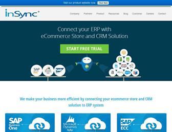 insync.co.in screenshot