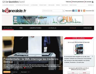 Thumbshot of Legeneraliste.fr
