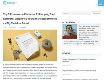 Thumbshot of Ecommerce-platforms.com