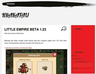 krakatauempire.blogspot.com screenshot