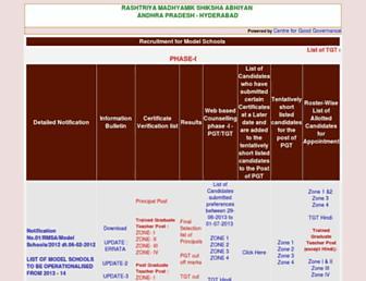 apms.cgg.gov.in screenshot