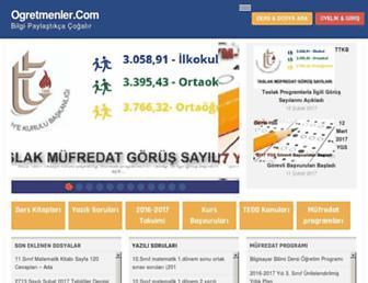 ogretmenler.com screenshot