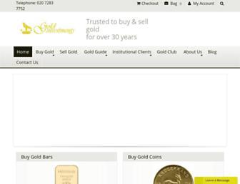 goldinvestments.co.uk screenshot