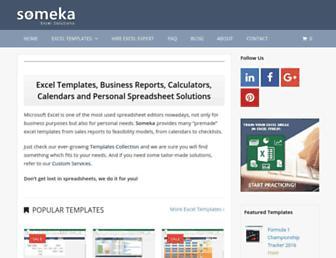 someka.net screenshot