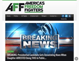 Thumbshot of Americasfreedomfighters.com