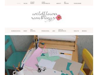 wildflowerramblings.com screenshot