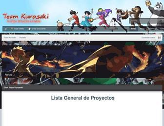 teamkurosaki.net screenshot