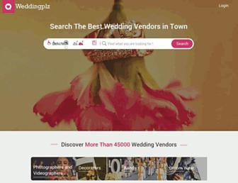 Thumbshot of Weddingplz.com